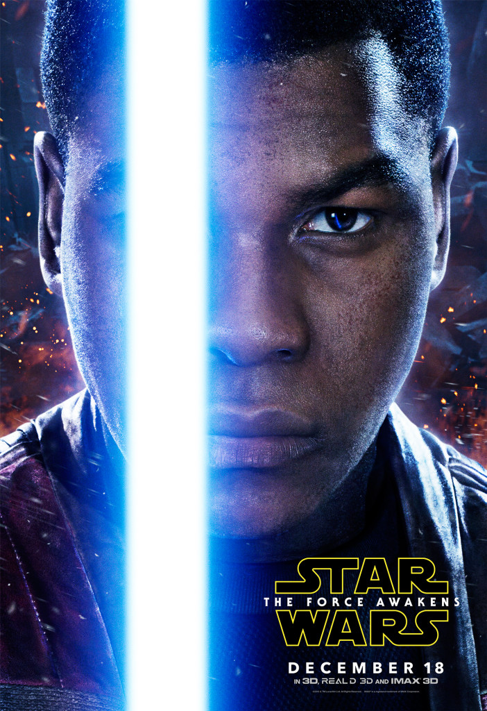 Finn - Star Wars: The Force Awakens Character Poster