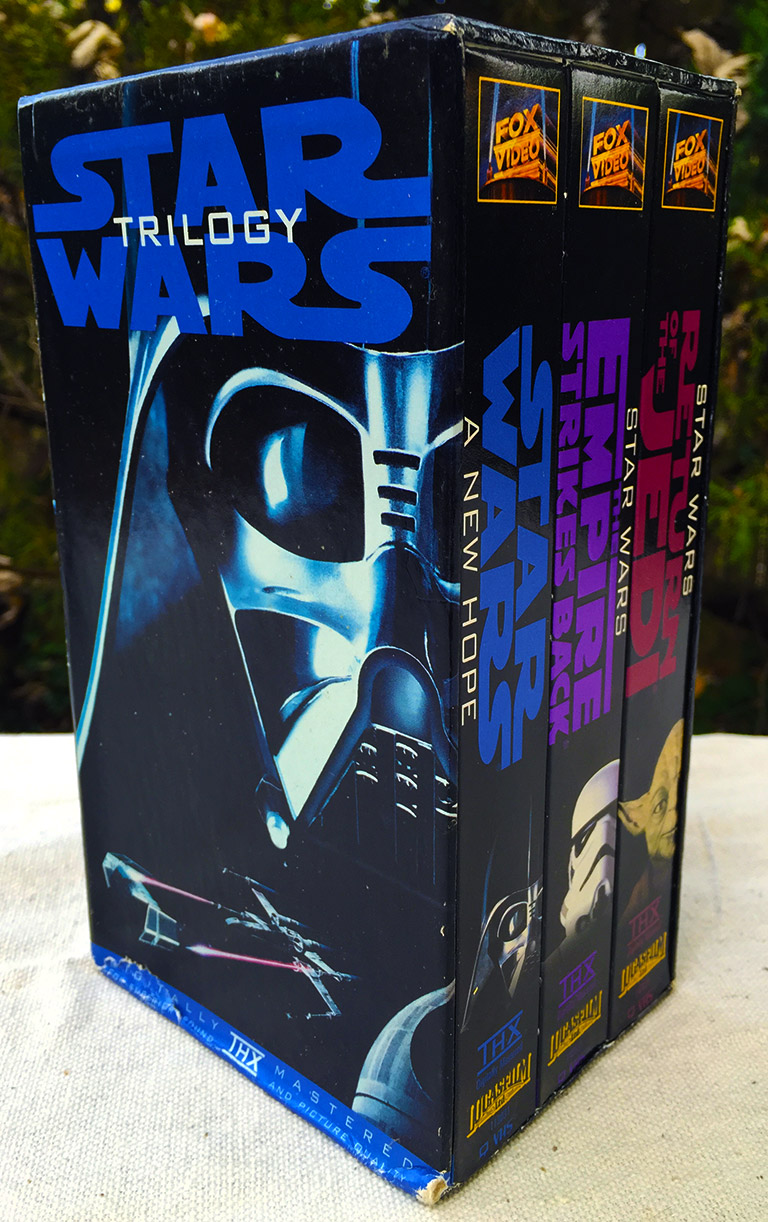 Star Wars Trilogy VHS box set