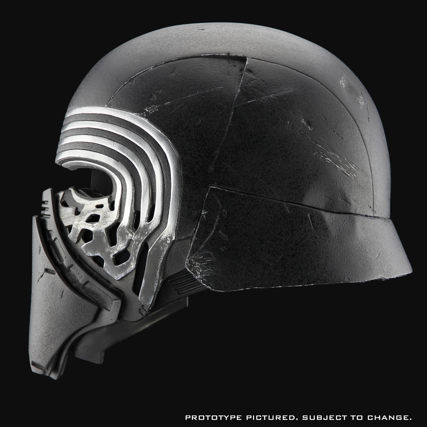 edc27d4859e Feel the Dark Side with ANOVOS  Amazing Kylo Ren Helmet - First Look ...