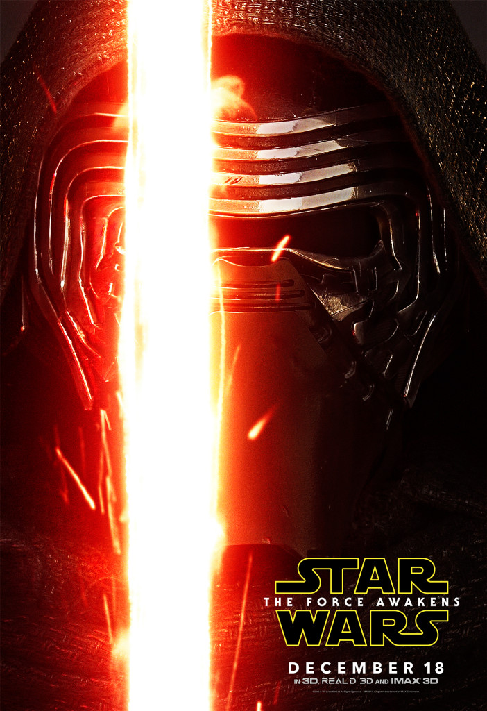 Kylo Ren - Star Wars: The Force Awakens Character Poster