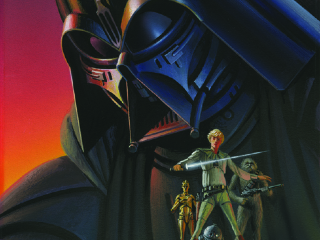 McQuarrie - Vader Painting