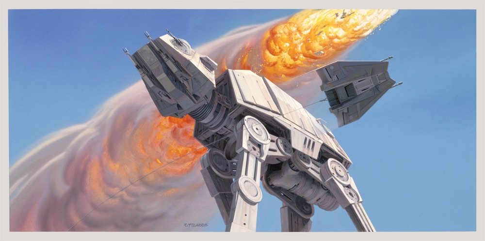 McQuarrie - AT-AT and snow speeder