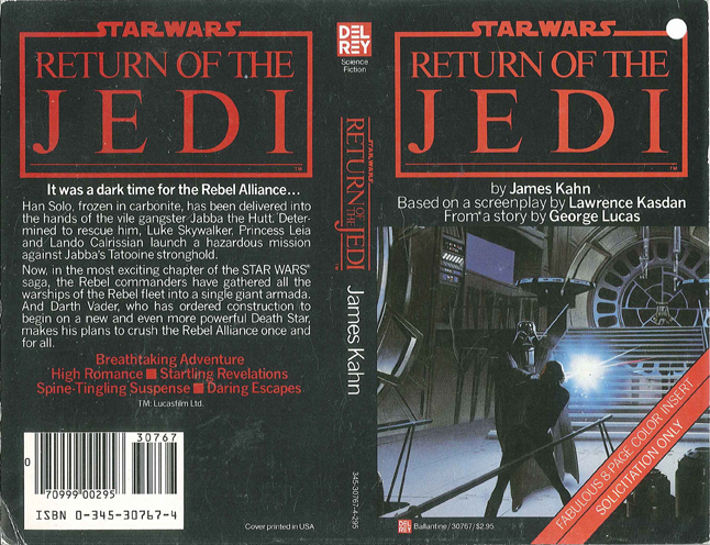 McQuarrie - Return of the Jedi Book Cover Art