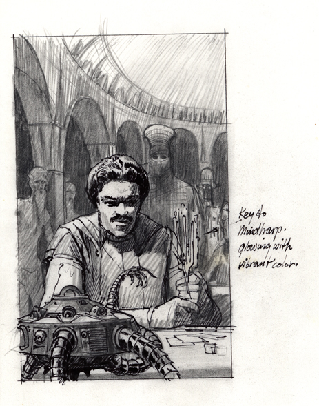 McQuarrie - Lando Book Cover Concept Art