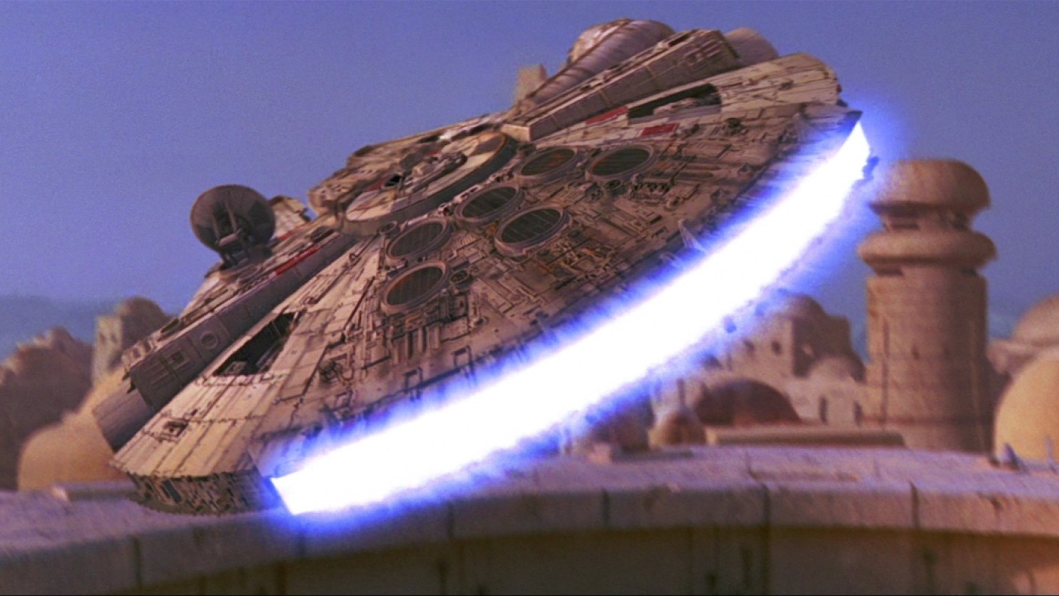Episode IV - Millennium Falcon Take Off