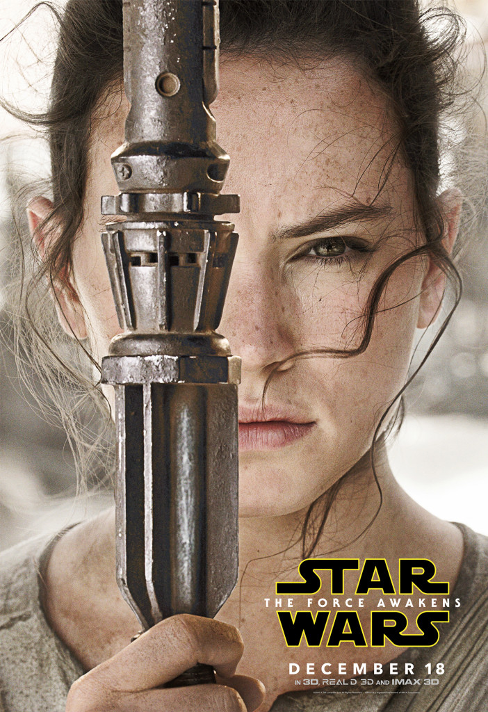 Rey - Star Wars: The Force Awakens Character Poster