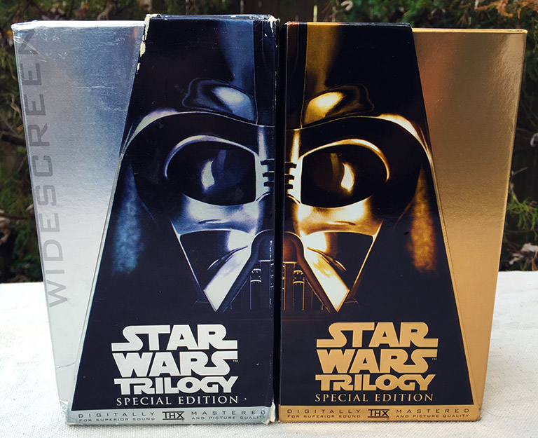 Star Wars VHS Releases! - Collectibles from the Outer Rim