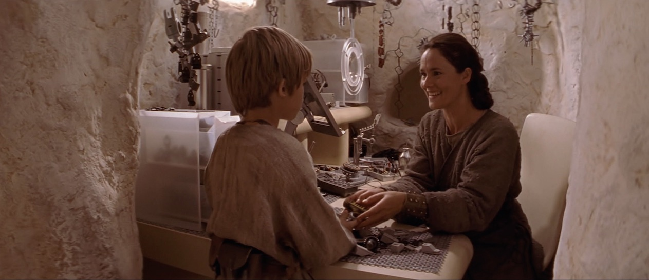 Episode I - Shmi and Ani on Tatooine