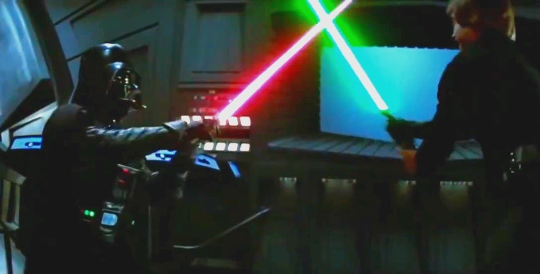 Episode VI - Vader and Luke fighting