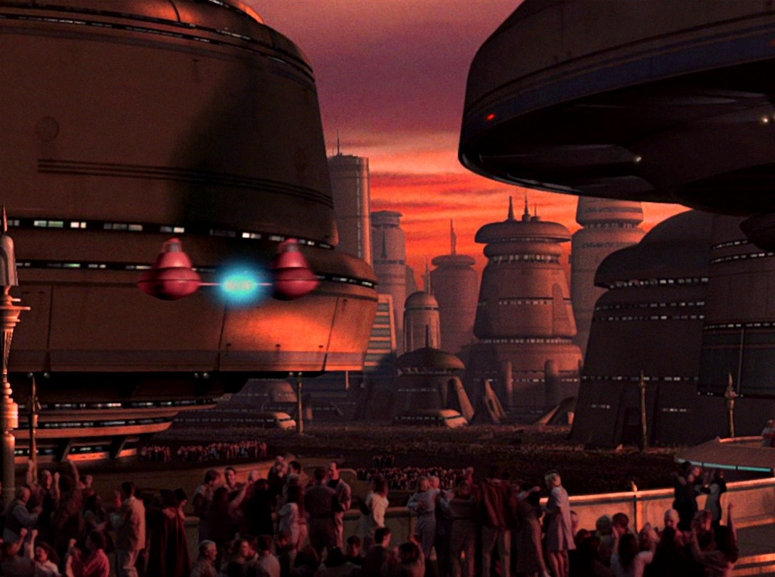 Holiday Shopping Cloud City - Background