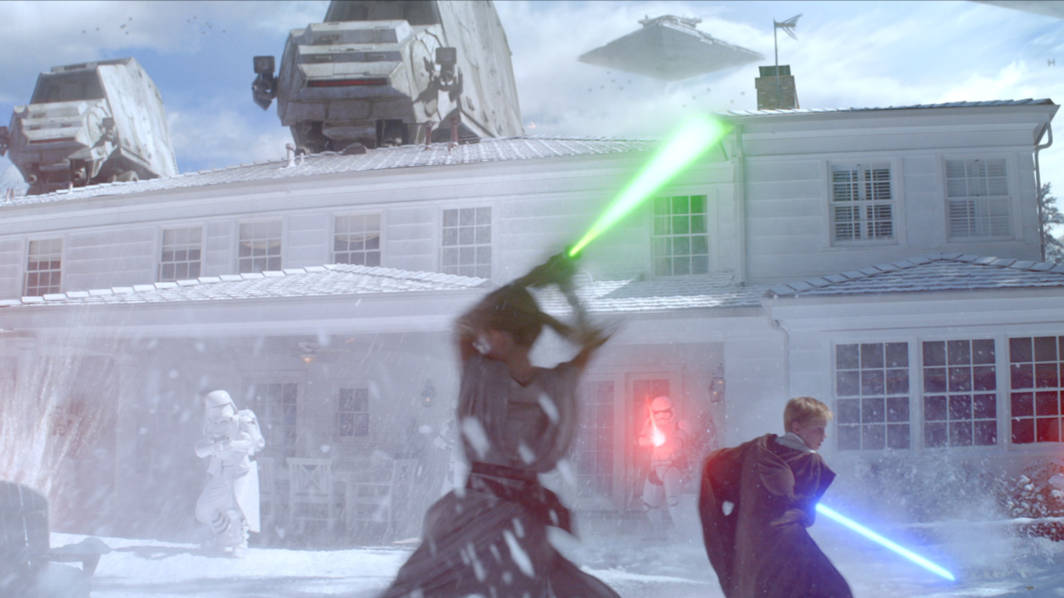 Duracell Star Wars commercial