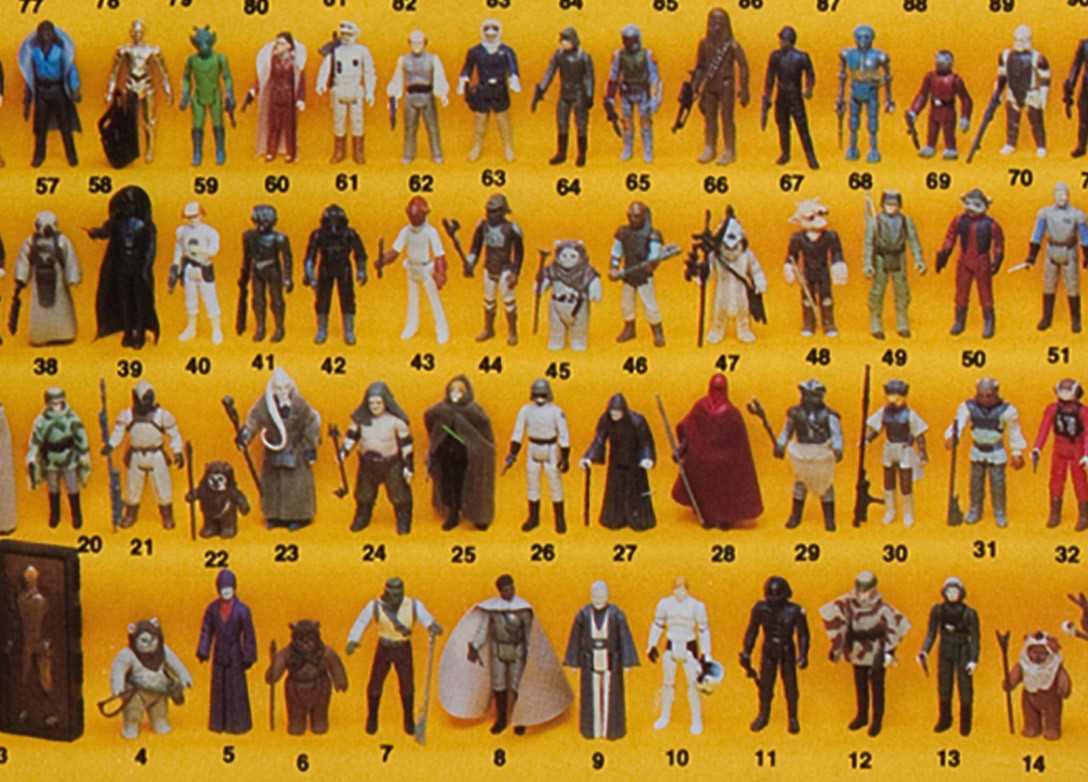 Vintage Kenner Card-Backs - Variety