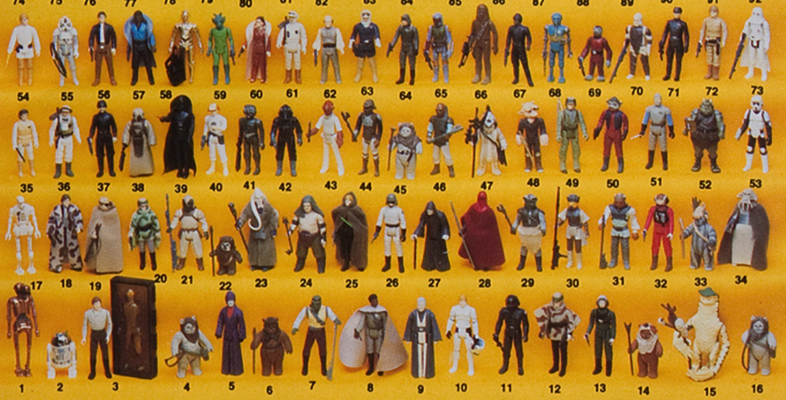 Star Wars Vintage Toys : Vintage kenner star wars cardbacks collectibles from