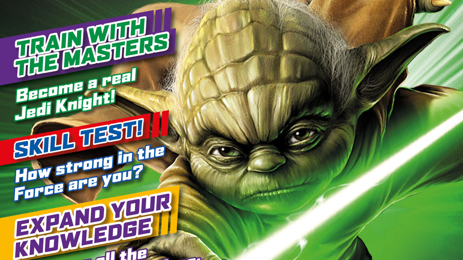Star Wars: Jedi Master magazine