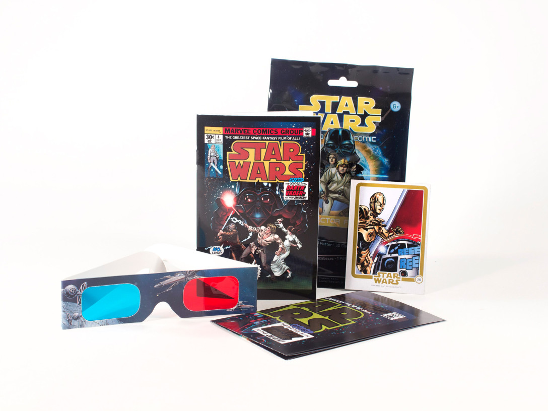 Star Wars Micro Comic Collector Packs