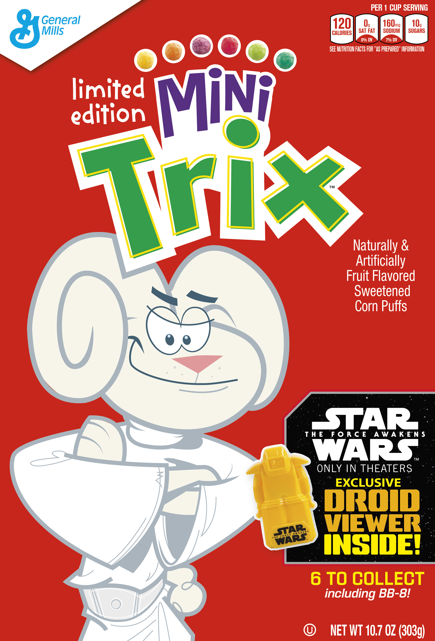 General Mills Cereals Have the Droids