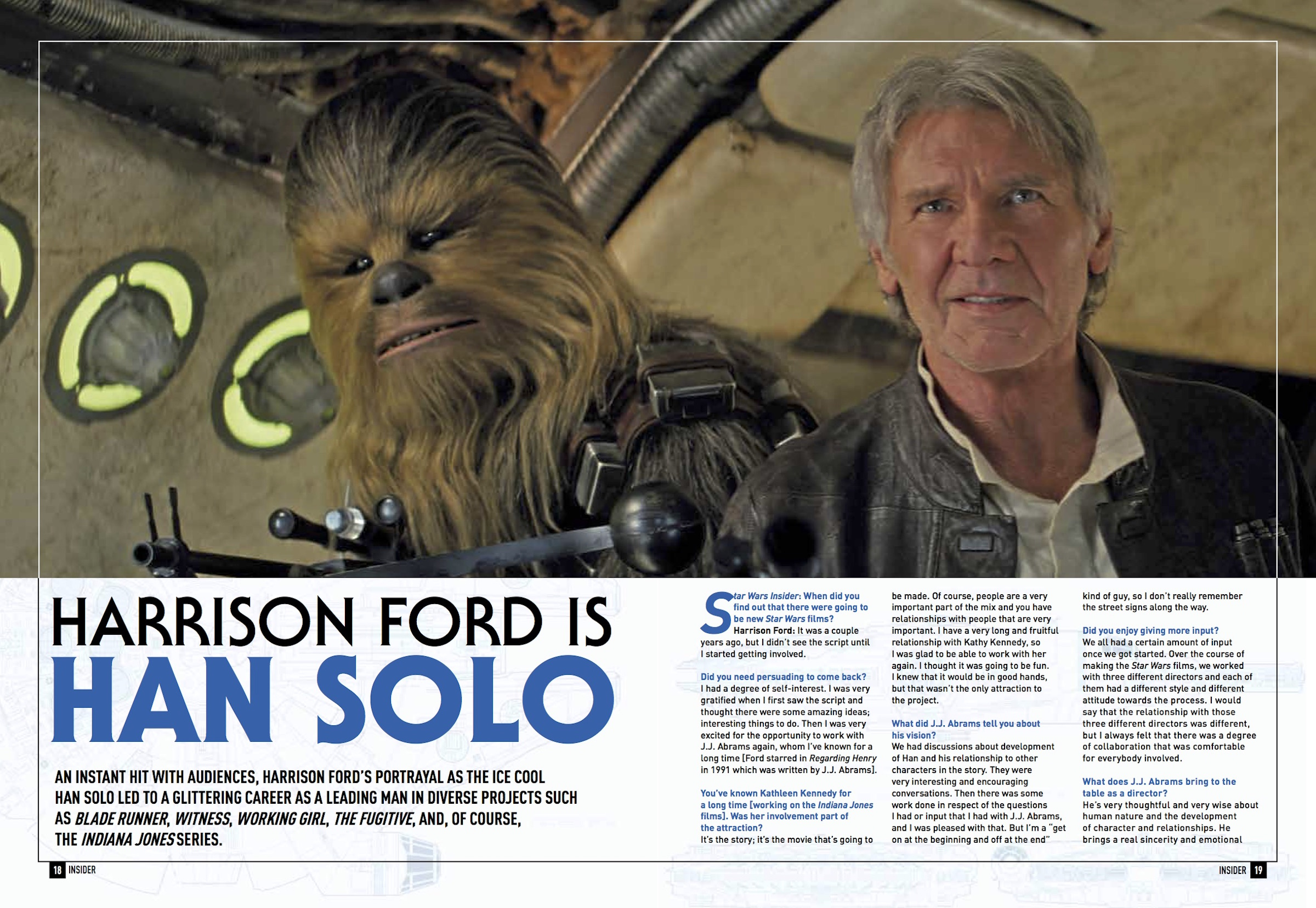 Star Wars Insider Harrison Ford Interview
