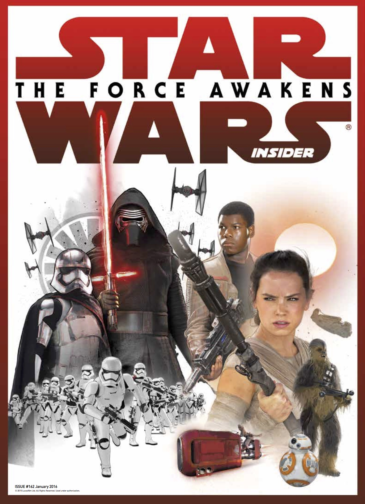 Star Wars Insider Cast Cover