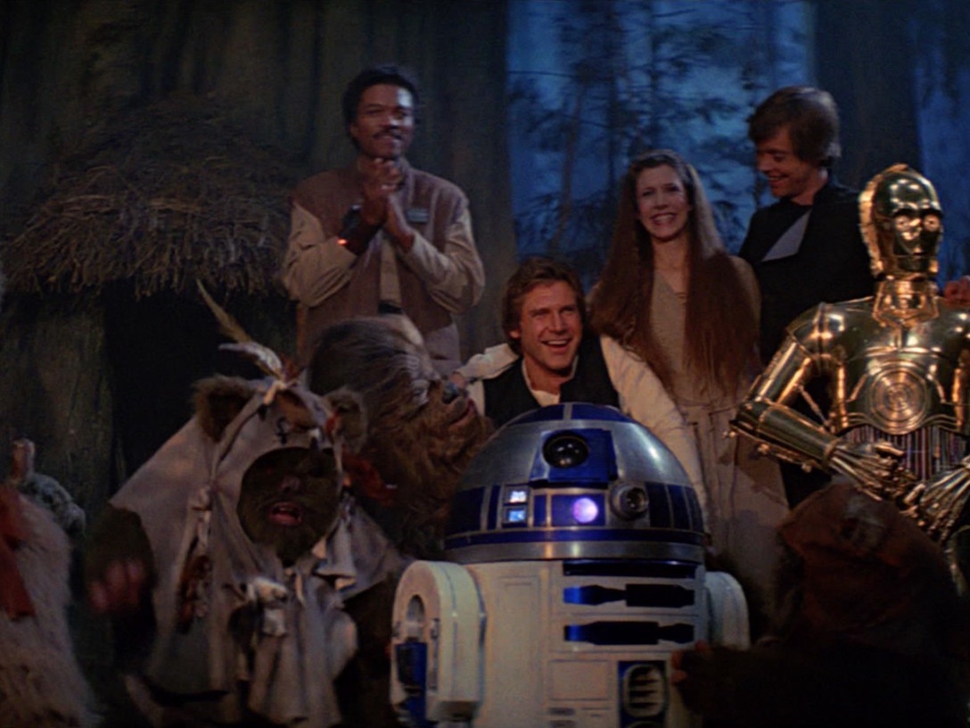 Return of the Jedi Celebration on Endor