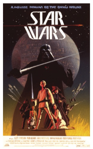 McQuarrie Star Wars Poster Painting