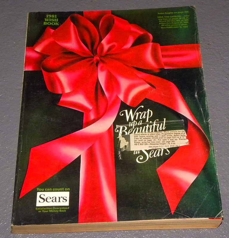 sears wish book cover - Sears Christmas Catalog