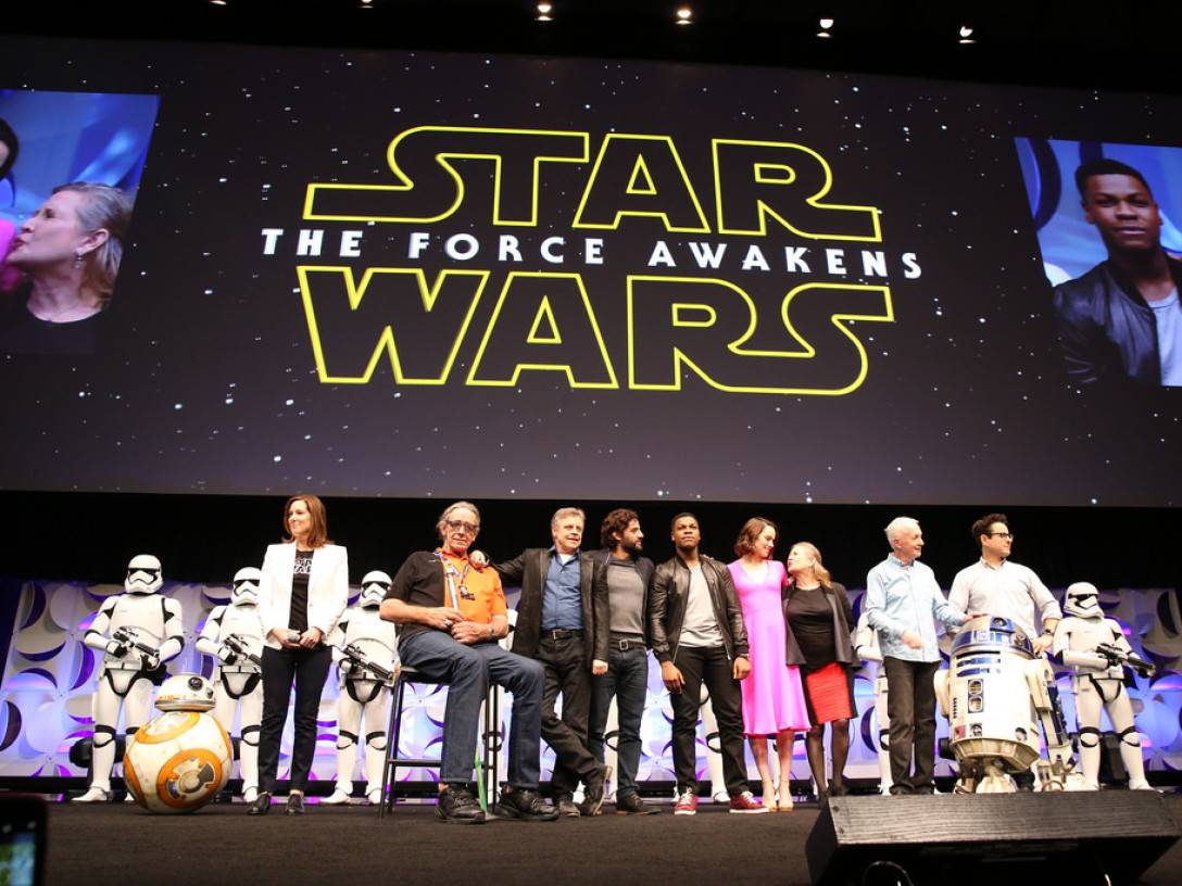 Star Wars: The Force Awakens cast