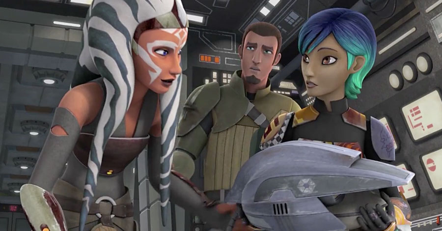 Star Wars Rebels Season 2 - Ashoka Tano