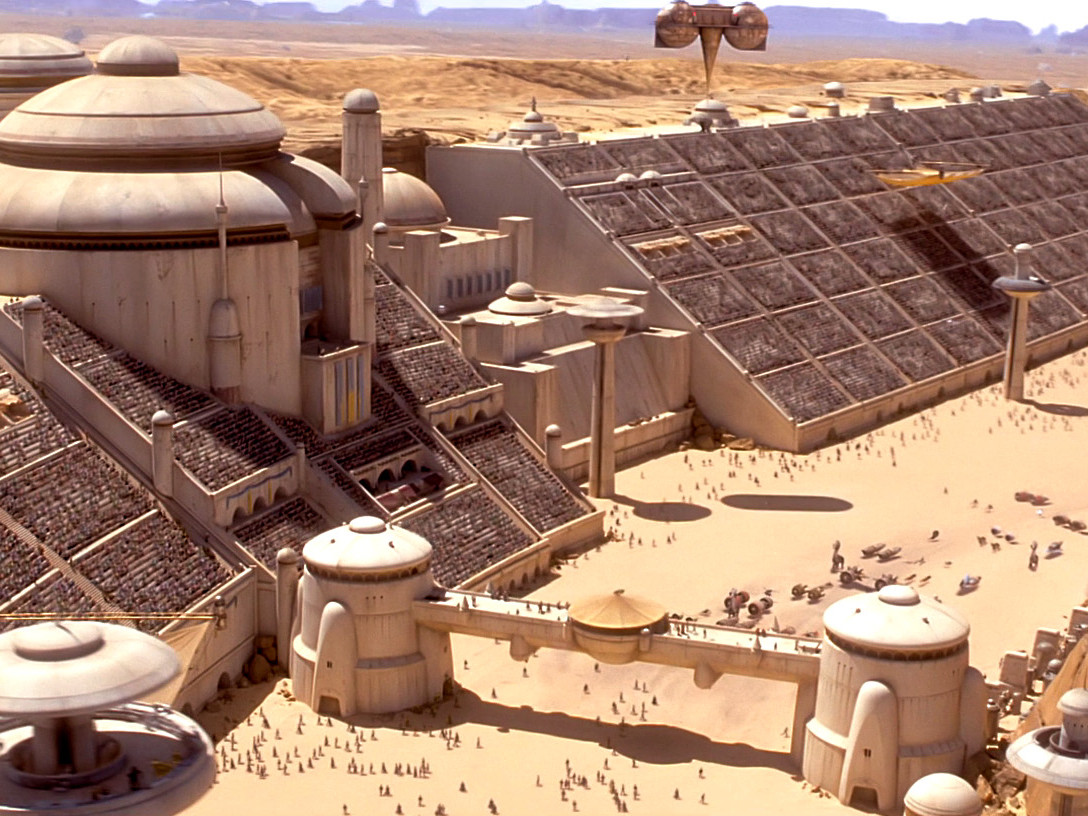 The Phantom Menace - Podracing Stadium