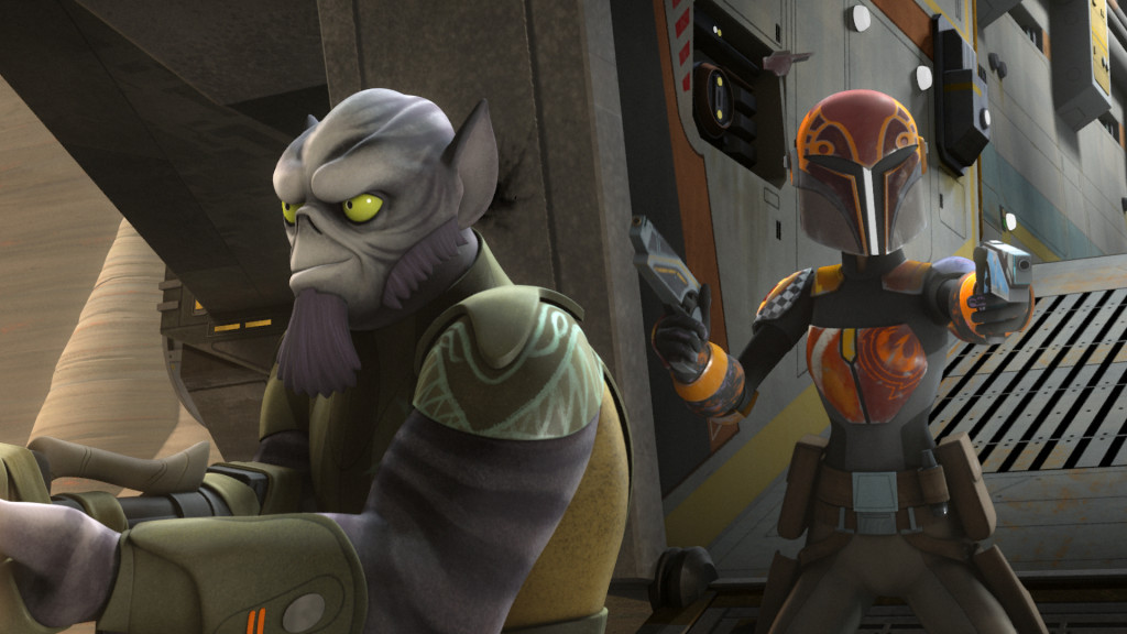 Star Wars Rebels - The Princess on Lothal