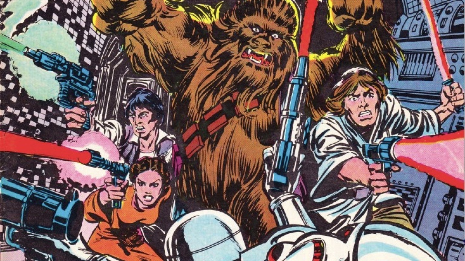Star Wars Weekly Issue 6 Cover