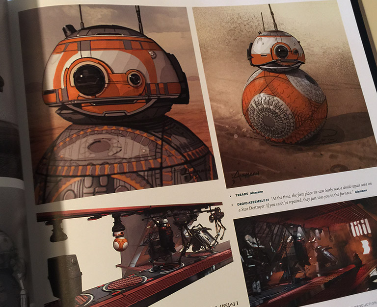 The Art of Star Wars: The Force Awakens - BB-8
