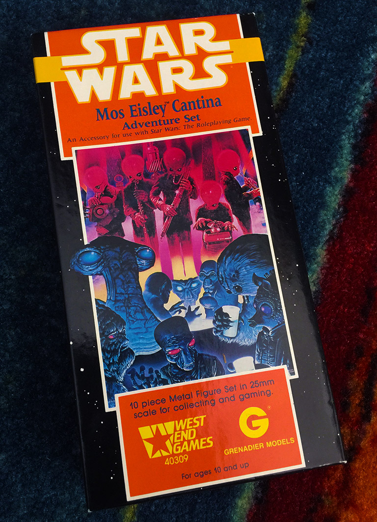 West End Game Star Wars Mos Eisley Cantina 25mm Labria SW82