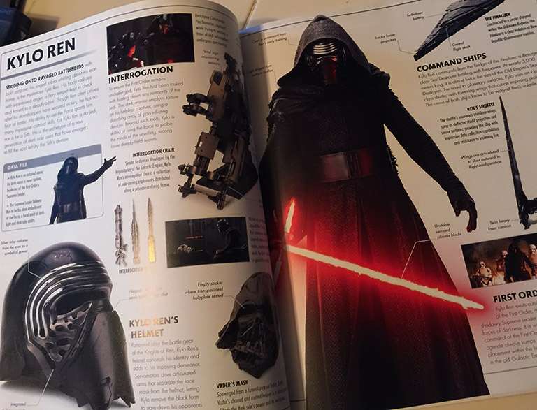 The Force Awakens Dictionary - Kylo Ren