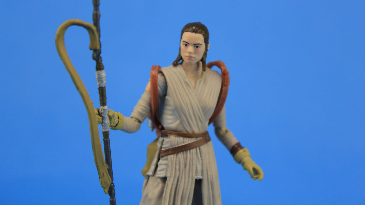 4 Hasbro Black Series Figures - Rey