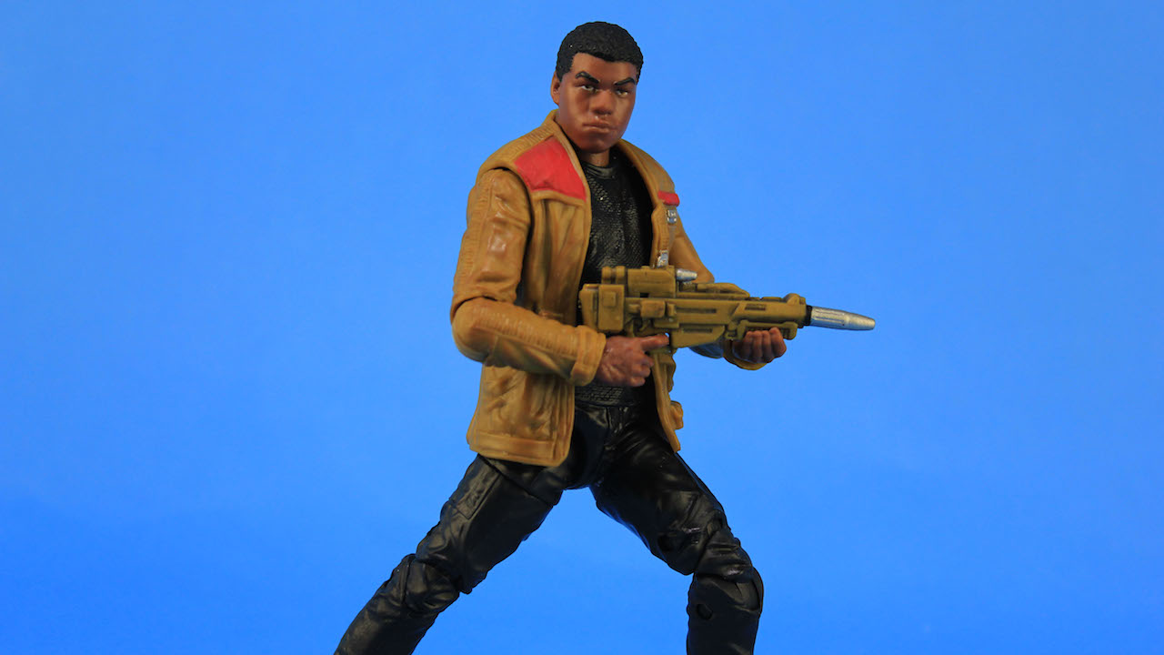 6 Black Series Figures - Finn
