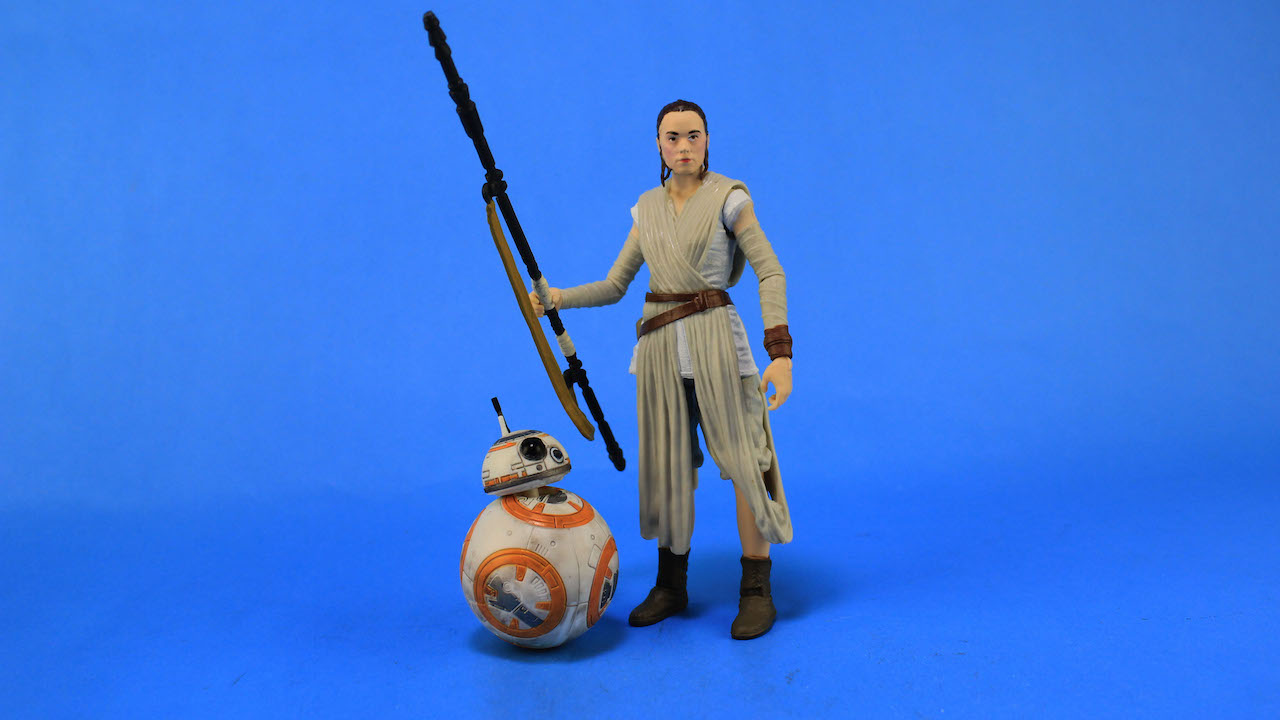 6 Black Series Figures - Rey and BB-8