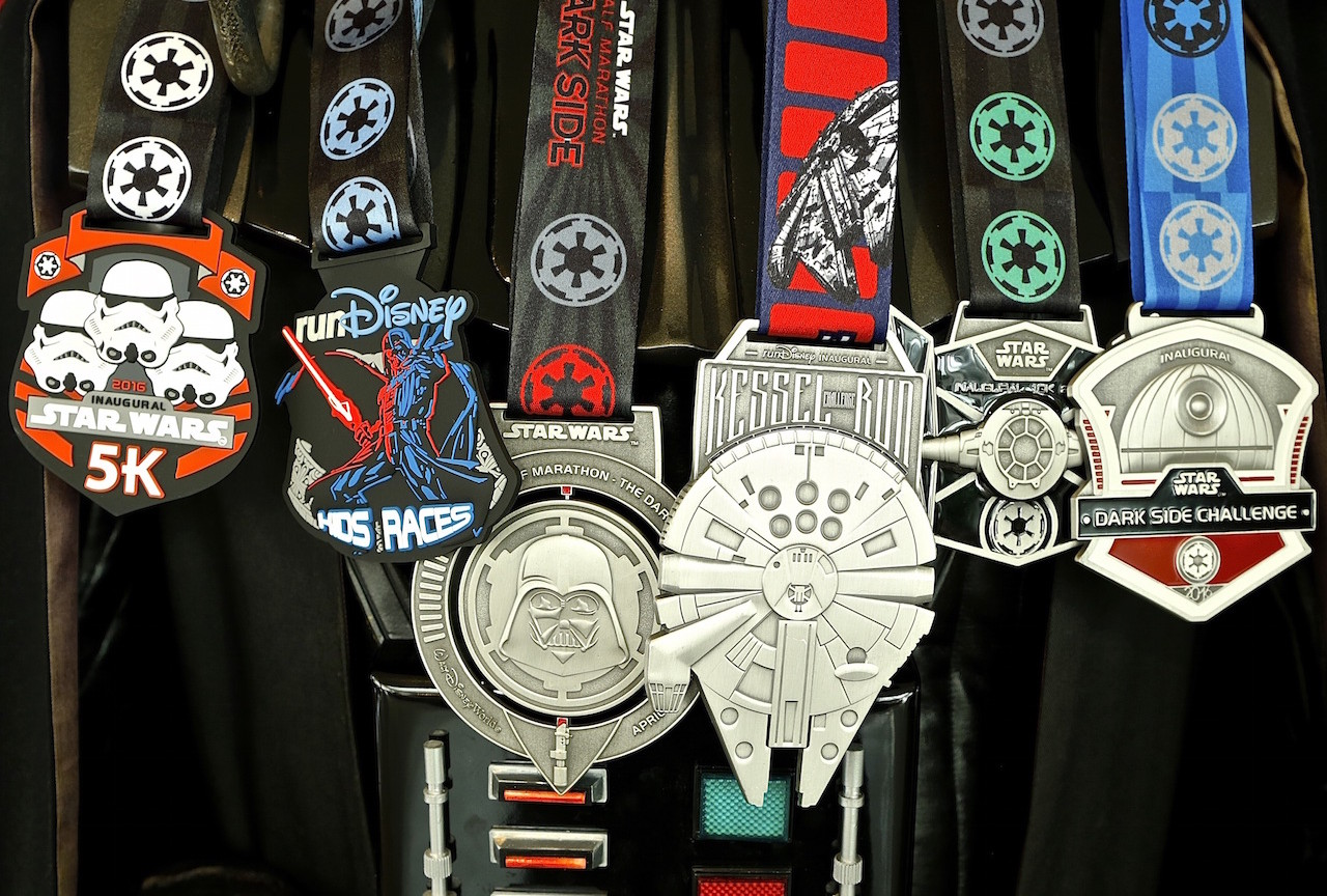 Dark Side Challenge Medal Collection