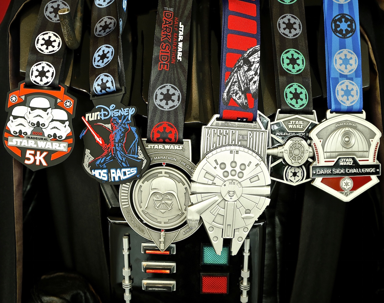 rundisney star wars medals are most impressive
