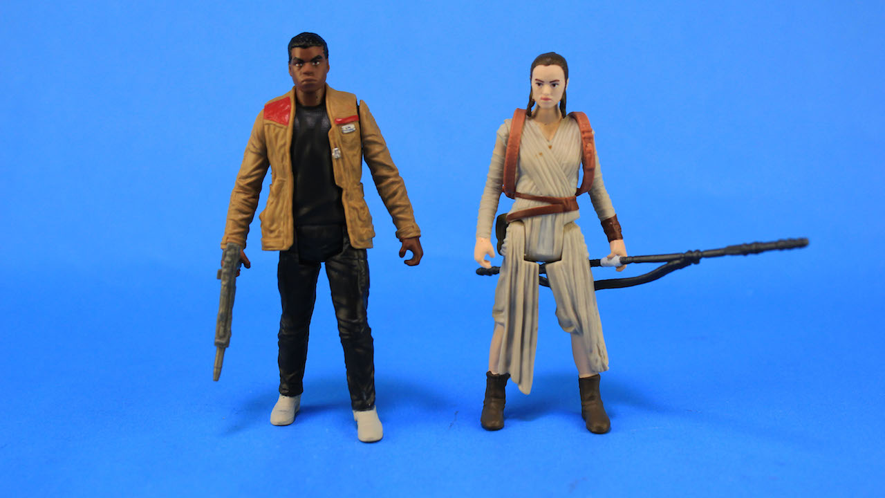 Hasbro Basic Action Figures - Finn and Rey