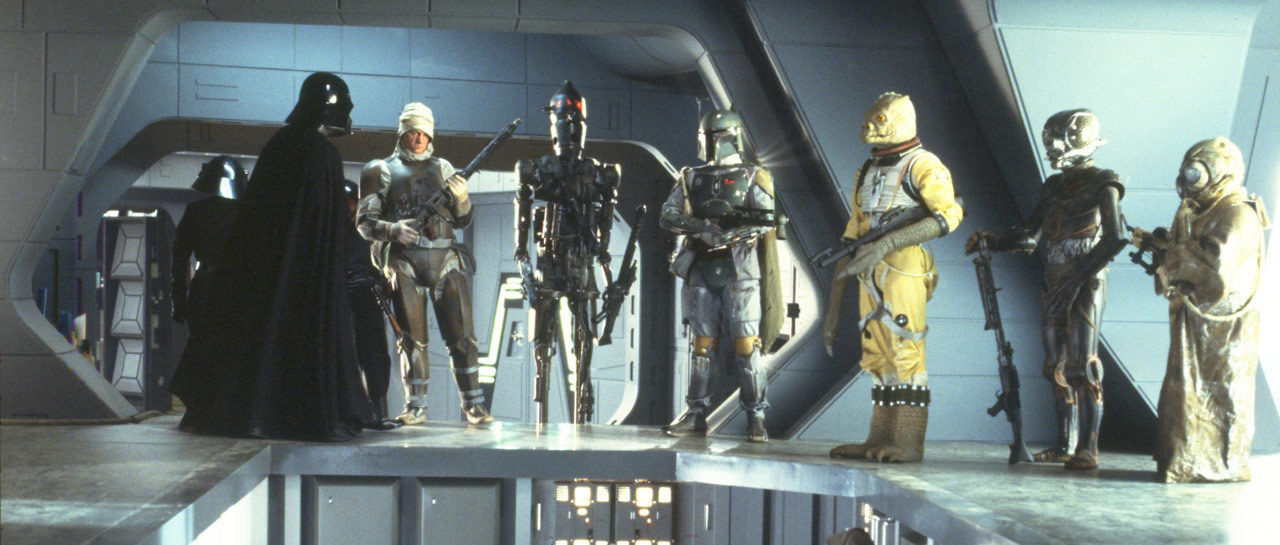 Image result for star wars bounty hunters