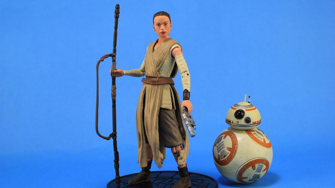Disney Elite Heroes Figures - Rey and BB-8