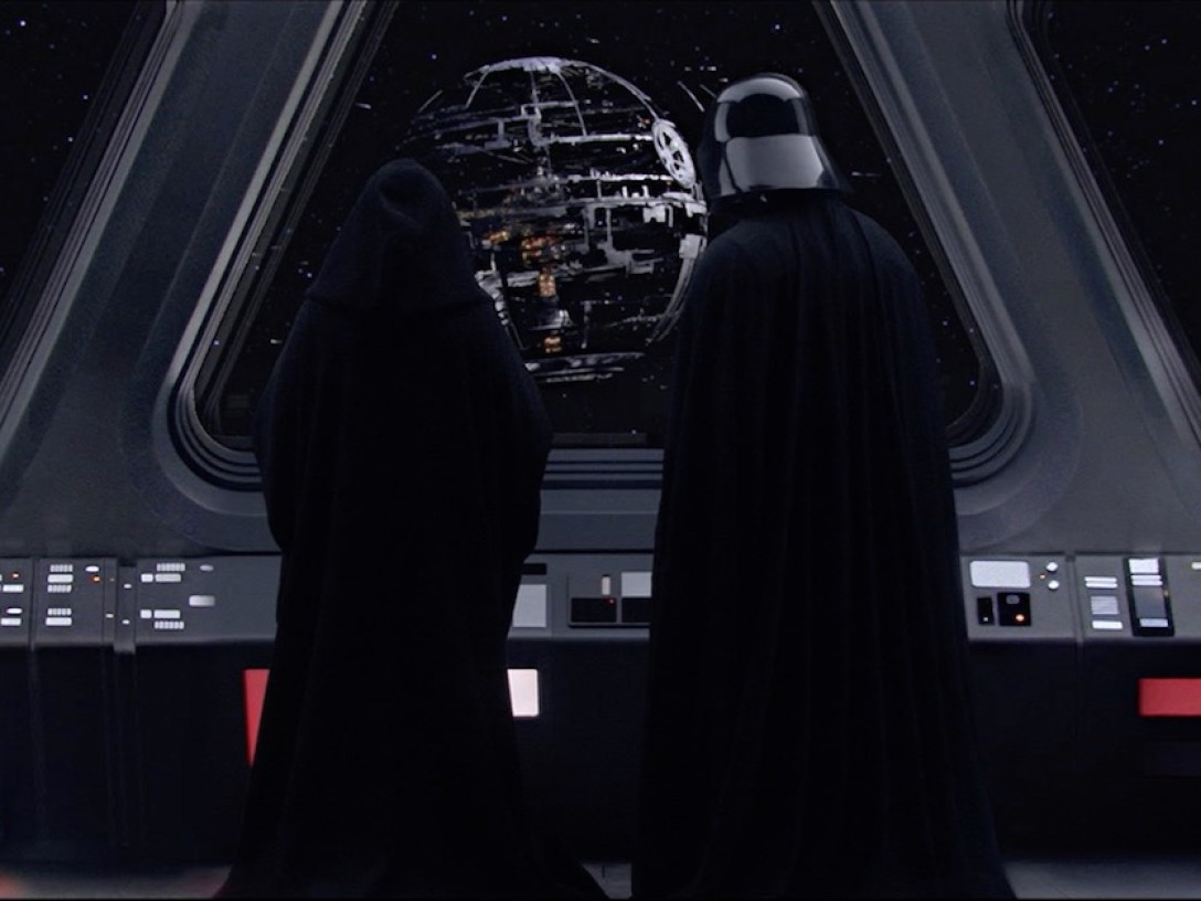 Revenge of the Sith - Palpatine and Darth Vader