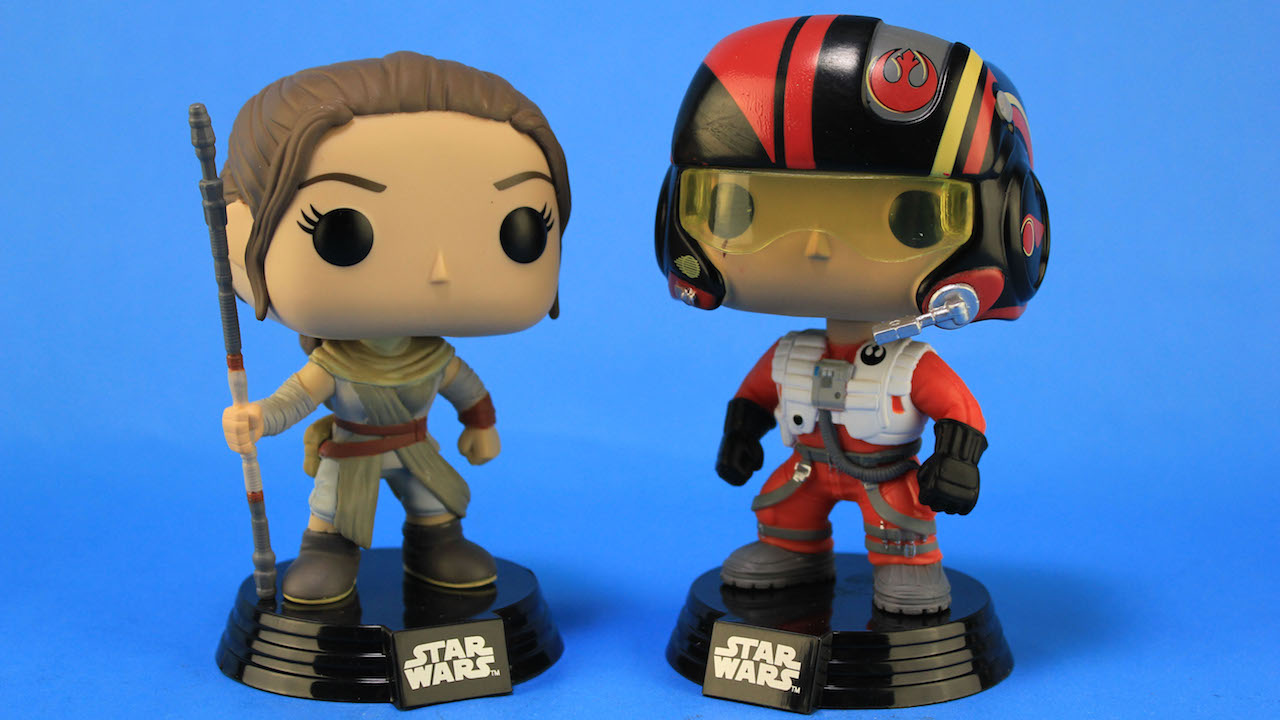 POP! Vinyl by Funko - Rey and Poe