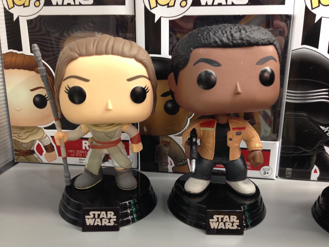 Funko Pop! Rey and Finn