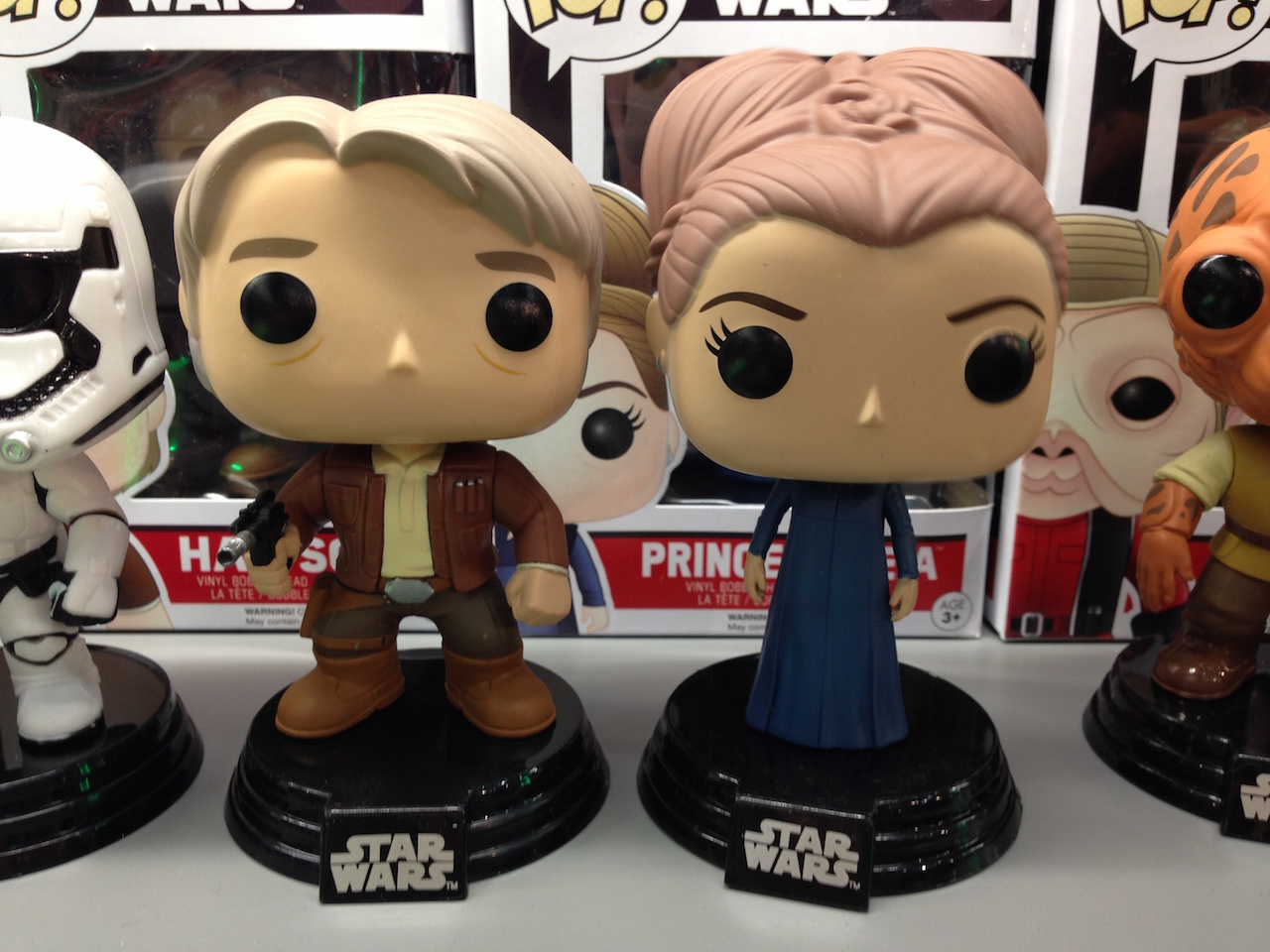 Funko Pop! Han and Leia