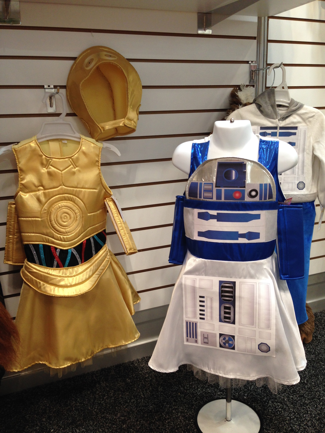 Princess Paradise C-3PO and R2-D2 dress