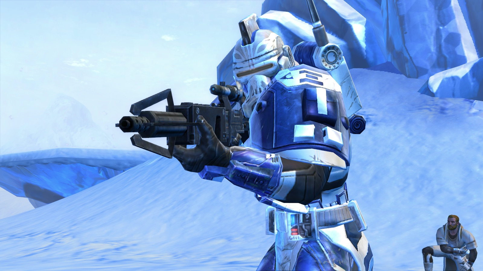 Star Wars: The Old Republic - A Republic Trooper