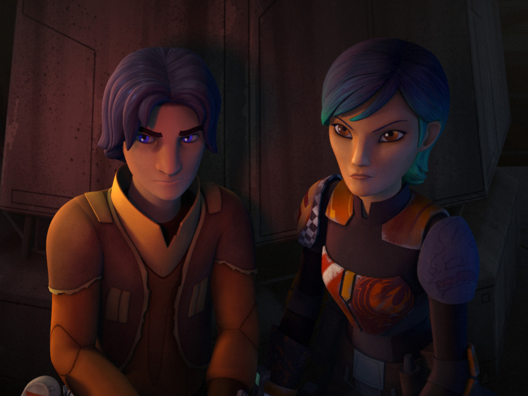 Star Wars Rebels - Ezra and Sabine