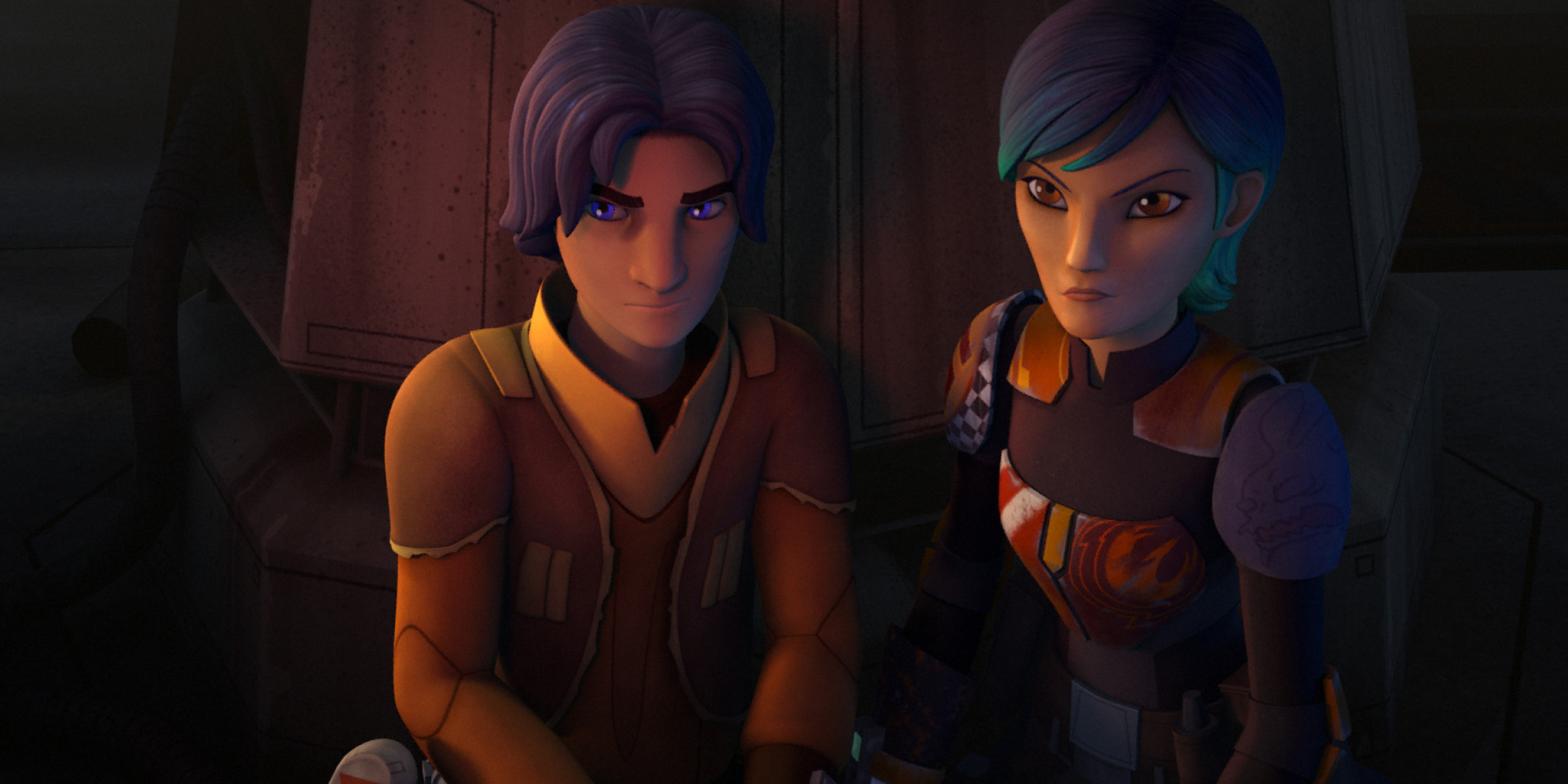 Studying Skywalkers Ezra And Sabine S Character Growth In Star Wars Rebels Season Two Starwars Com