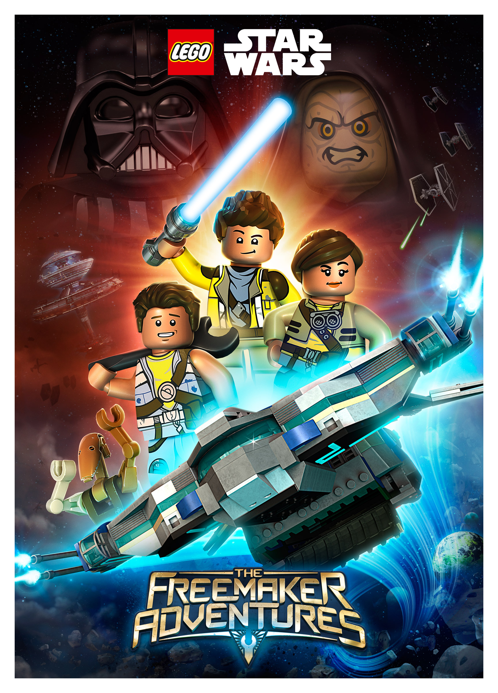 The Star System: LEGO Star Wars: The Freemaker Adventures Animated Series